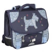 Chipie - Cartable Emessa 2 Compartiments 38 cm - Bleu