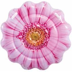 INTEX Matelas gonflable Pâquerette Rose 142 cm x 142 cm