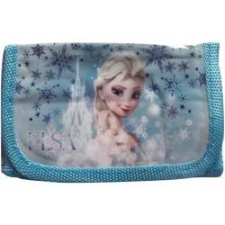 Frozen Girl Wallet Blue