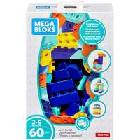 60 Blocs de Construction Mega Blocks