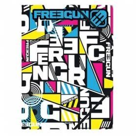 Freegun triangle chemise A4 à rabat