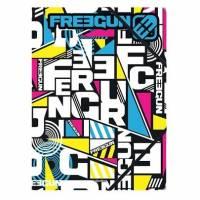 """Freegun """"triangle"""" chemise A4 à élastique cartonné"""