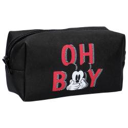 Trousse de Maquillage Mickey Mouse Noir Oh Boy