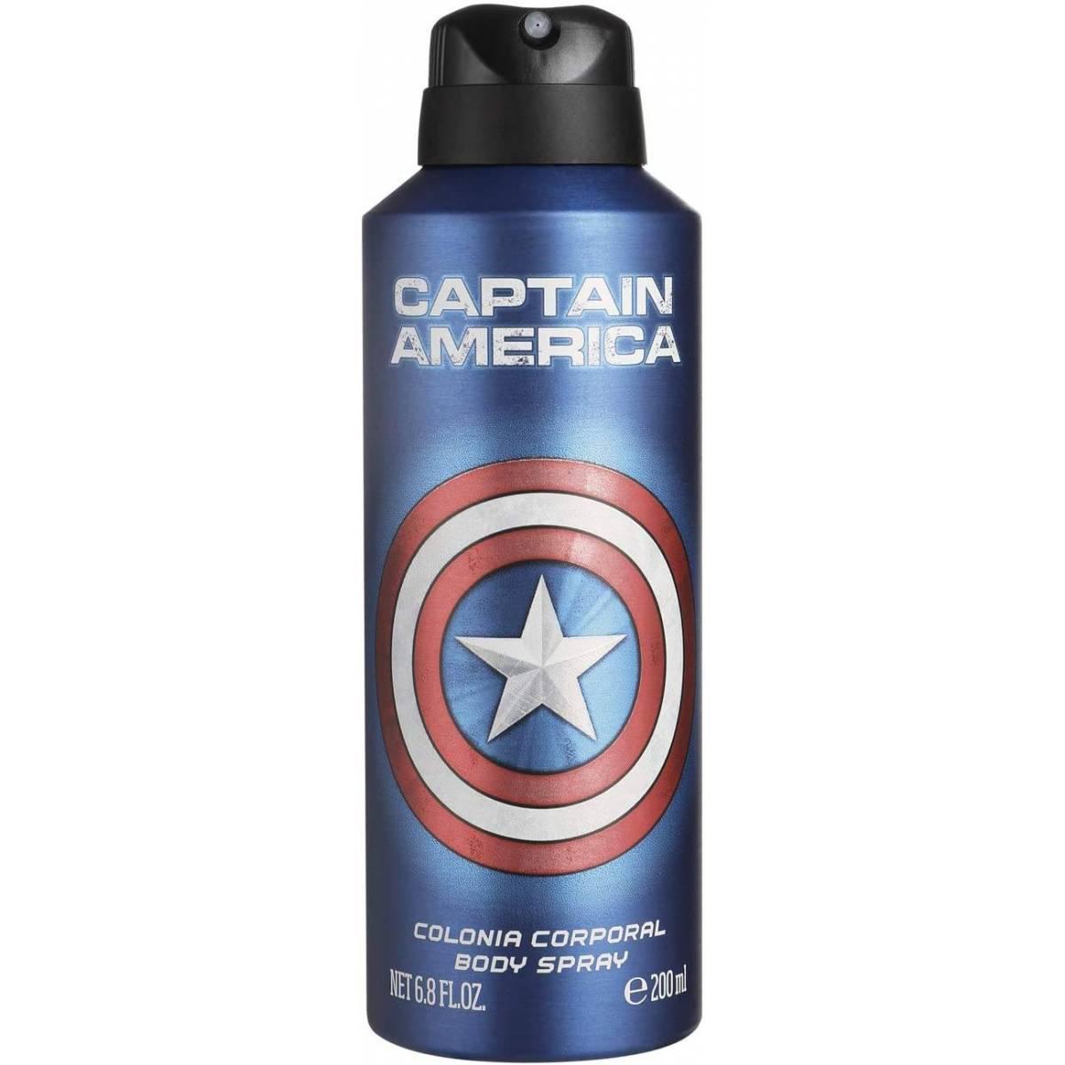 Déodorant Enfant Marvel Captain America 200 ml