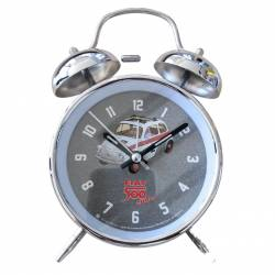 Table clock Fiat 500 sport Vintage in metal