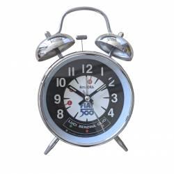 Reloj de mesa vintage Fiat 500 Sport de metal