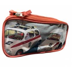 Trousse de Toilette Fiat 500 Rouge