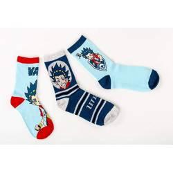Lot de 3 paires de chaussettes BEYBLADE