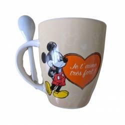 Mug Céramique Mickey Mouse Cadeau - Maman