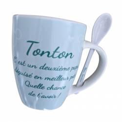 Mug Céramique Mickey Mouse Cadeau - Tonton