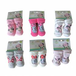 Minnie socks 0 to 6 months and 6 to 12 months