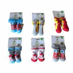Cars-Socken 0 bis 6 Monate und 6 bis 12 Monate