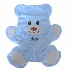 Trudi - 25985 - Doudou Ourson Cremino - Bleu