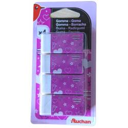 Set of 4 gums Auchan