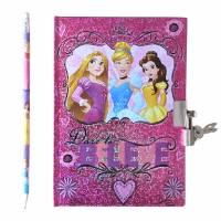 Carnet Secret Princesse Disney avec Crayon