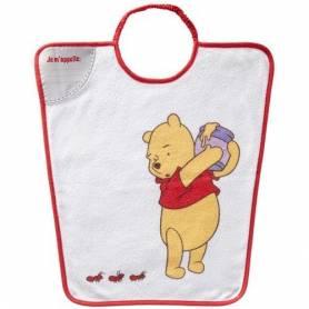 Babycalin Bavoir Maternelle Fermeture Elastique Winnie avec pot de miel