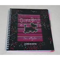 "CHIPIE - Cahier de textes "" Chipie Girl !!! ""So..style"" - black"