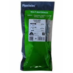 30 Chevilles nylon à expansion Plombelec 60 mm x 10 mm