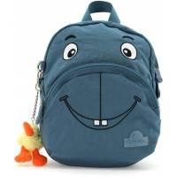 Kiwiwho Backpack 3 years+ Blue jean