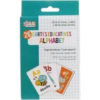 26 Cartes Educatives Alphabet