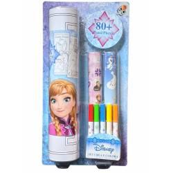 Disney Winter Queen coloring kit 5 colors