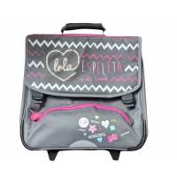 Schoolbag LOLA ESPELETA with wheels girl 38 cm