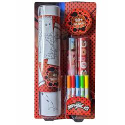 Miraculous coloring kit 5 colors