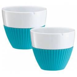Set de 2 Tasse de thé Viva Scandinavia 300 ml Turquoise