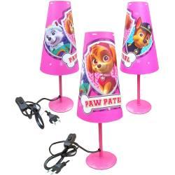 Skye Paw Patrol Bedside Lamp Pink