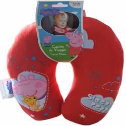 Red Peppa Pig Child Travel Cushion