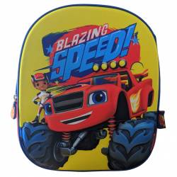 3D Blaze Backpack and Monster Machines 33 cm