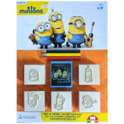 Minions Stamp Set 3 Colored Pencils