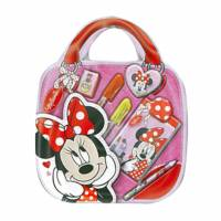 Pink Minnie Blister writing kit with handle