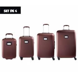 Set of 4 Cases Tann's Pondichery Bordeaux