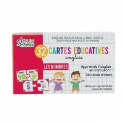 32 Cartes Educatives Anglais Les Nombres