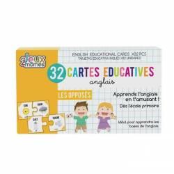 32 Cartes Educatives Anglais Les Opposés