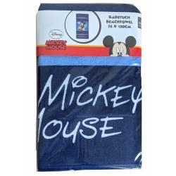 Serviette de plage Disney Mickey 75 x 150 cm