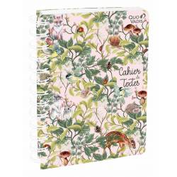 Spiral notebook 15 x 21 cm Quo Vadis Imaginary Forest