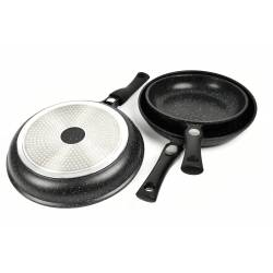 Set of 3 Napoleon Imperial removable pans