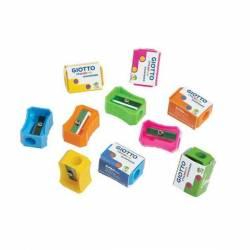Jar of 120 pencil sharpeners 5 colors