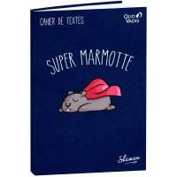 "Cahier de textes Quo Vadis ""Super Marmotte"" 21 x 15 cm"