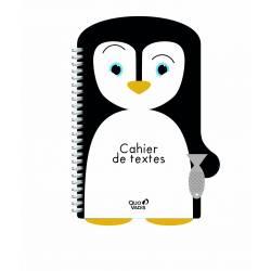 """Cahier de textes Quo Vadis """"Phoque j'y aille"""" 21.5 x 15.5 cm"""