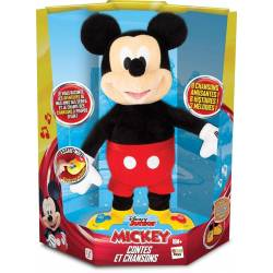 Peluche Disney Mickey Mouse interactif IMC Toys