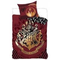 Housse de couette Harry Potter 140 x 200 cm + taie d'oreiller