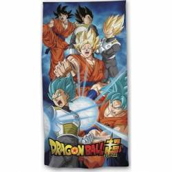 Drap de Plage Dragon Ball Super 140 x 70 cm