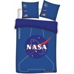Housse de couette NASA Bleu 140 x 200 cm + taie d'oreiller