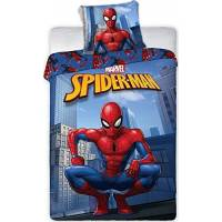 Housse de couette Spider-Man 140 x 200 cm + taie d'oreiller