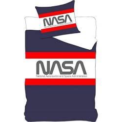 Housse de couette NASA 140 x 200 cm + taie d'oreiller