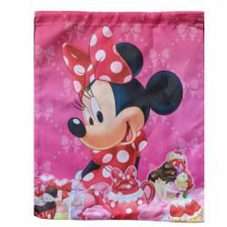 Sac cordon de piscine Minnie Mouse Rose
