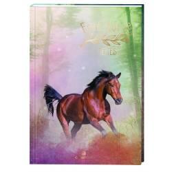 Horse Color Oberthur Rigid Textbook